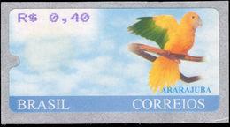 Brazil 2000 0.40c Ararjuba ATM Unmounted Mint. - Brazil