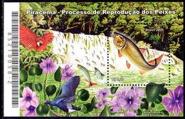 Brazil 2005 Piracema Fish Souvenir Sheet Unmounted Mint. - Brasilien