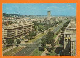 LE HAVRE - Avenue Foch Et Tour De L'Hôtel-de-Ville   (21486) - Le Havre
