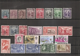 Sarawak ( Lot De Timbres Divers Différents à Voir) - Sarawak (...-1963)