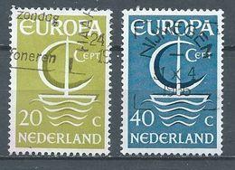 Pays-Bas YT N°837/838 Europa 1966 Oblitéré ° - 1949-1980 (Juliana)