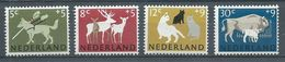 Pays-Bas YT N°792/795 Société Protectrice Des Animaux Neuf  ** - 1949-1980 (Juliana)