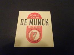 293B  - Matchbox Label - Koffie - Cichorei - De Munck - Meerbeke - Matchbox Labels