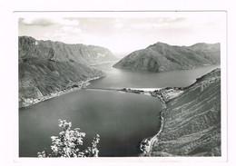 V5111 Lago Di Lugano - Ponte Di Melide - Panorama / Non Viaggiata - TI Tessin