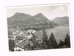 V5117 Lugano - Panorama Verso Il Monte Brè / Viaggiata 1944 - TI Tessin