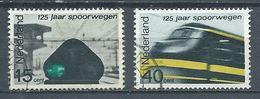 Pays-Bas YT N°798/799 Chemins De Fer Néerlandais Oblitéré ° - 1949-1980 (Juliana)