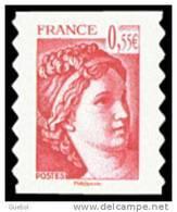 France N° 4293 ** Ou 231 Autoadhésif - Sabine De Gandon. Visage De La (5ème) Cinquième République - Nuevos