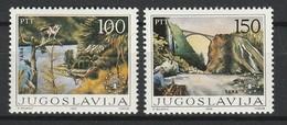 YOUGOSLAVIE 1986 YT N° 2026 Et 2027 ** - Neufs