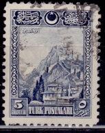 Turkey, 1926, Fortress Of Ankara, 5g, Scott# 640, Used - Oblitérés