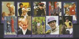 GUERNSEY 2003 YT N° 983 à 992 ** - Guernesey