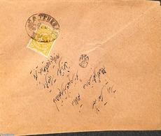 Iran (persia) 1901 Letter From Teheran, (Postal History), Stamps - Iran