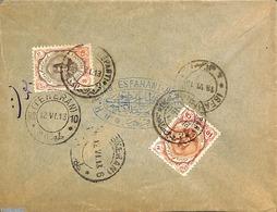 Iran (persia) 1913 Letter From Isfahan, (Postal History) - Iran