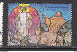 Zambie, Zambia, Noël, Christmas, Ange, Angel, Berger, Shepherd, Mouton, Lamb, Bouc, Chèvre - Christmas