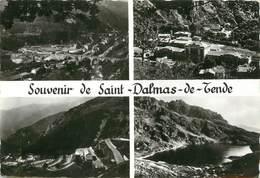 """/ CPSM FRANCE 06 """"Souvenir De Saint Dalmas De Tende"""" - Frankreich"""