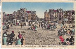 De Panne - Het Strand En De Zeedijk - De Panne