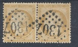 N°59 PAIRE VARIETE ET NUANCE. - 1871-1875 Cérès
