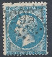 N°22 PAIRE VARIETE ET NUANCE. - 1862 Napoléon III.