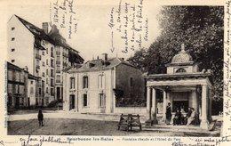 Bourbonne Les Bains Fontaine Chaude Et Hotel Du Parc - Bourbonne Les Bains