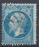 N°22  VARIETE   NUANCE. ET OBLITERATION. - 1862 Napoléon III.