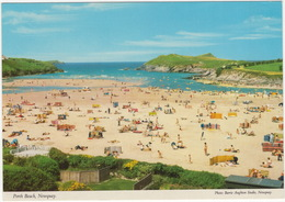 Porth Beach, Newquay - (John Hinde Postcard) - Newquay