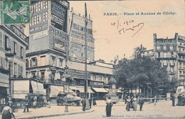 75017 - PARIS - Place Et Avenue De Clichy - Places, Squares