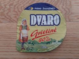 Lithuania Litauen Sour Cream Top 2020 - Opercules De Lait