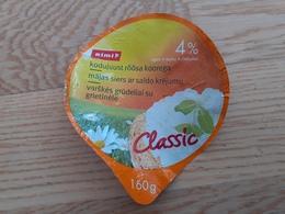 Latvia Cottage Cheese Top - Opercules De Lait