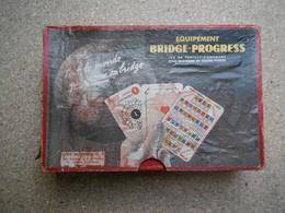 Jeu De Carte équipement Bridge-progress Série Moyenne N°1 Par MM ALBARRAN Et NEXON R. DE..C040320 - Kartenspiele (traditionell)