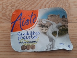 Lithuania Yogurt Top - Opercules De Lait