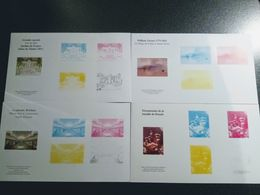 EPREUVRES COULEURS - Documents Of Postal Services