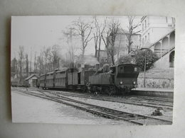 PHOTO J. Bazin - Train - Soisy - 1954 - Trains