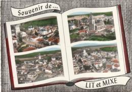 ***  40 *** Livre Ouvert Souvenir De Lit Et Mixe - TB Timbre Décollé - Francia