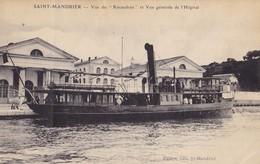 """SAINT-MANDRIER - Vue Du """"Kéraudren"""" Et Vue Générale De L'Hôpital - Saint-Mandrier-sur-Mer"""