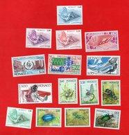 Lot De 15 Timbres MONACO Neufs Xx - Collections, Lots & Series