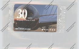 TELEFON-KARTE / PHONE-CARD, UNITED AIRLINES, Mint Unused - Aerei