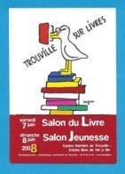 CPM.    Cart'com.   Savignac.   Salon Du Livre De Trouville (14).   2008.   Postcard. - Savignac