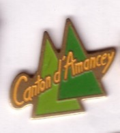 F189 Pin's AMANCEY Grotte Grottes Doubs Franche Comte Achat Immédiat - Villes