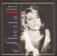 SHEILA - SP - 45T - Disque Vinyle - Pour Te Retrouver - 870699 - Discos De Vinilo