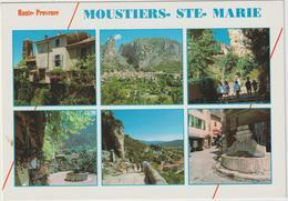 Alpes  De  Haute  Provence : MOUSTIERS   Ste  Marie  : Vues  2000 - Francia