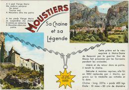 Alpes  De  Haute  Provence : MOUSTIERS   Ste  Marie  : Vues - Francia