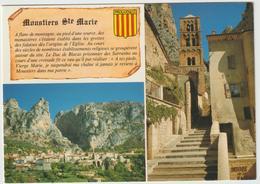 Alpes  De  Haute  Provence : MOUSTIERS   Ste  Marie  : Vues 1991 - Francia