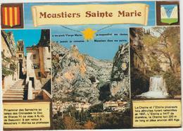 Alpes  De  Haute  Provence : MOUSTIERS   Ste  Marie  : Vues 1986 - Francia