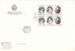 RACCOMANDATA CON NATALE 1984 FDC - Lettres & Documents
