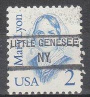 USA Precancel Vorausentwertung Preo, Locals New York, Little Genesee 845 - Vereinigte Staaten