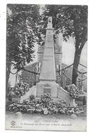 01  -  CPA  De  VIRIAT  -  Le  Monument  Aux  Morts  Pour  La  Patrie  1914 - 1918 - Other Municipalities