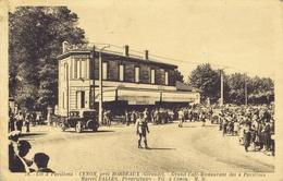 33 - Cenon - Grand Café Restaurant Des 4 Pavillons - Marcel Salles Propriétaire - France