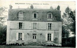 N°6318 T -cpa Arçonnay -château De Malêfre - Andere Gemeenten