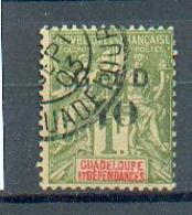 GUAD 500 - YT 48 ° Obli - Guadeloupe (1884-1947)