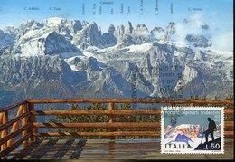 52699 Italia, Maximum  1977 Soc. Alpinisti Tridentini,  Alpini,   Mountains - Maximum Cards