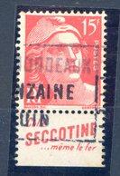 MARIANNE PUB SECCOTINE - Francia